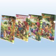 بسته 4 جلدی کتاب داستان آی قصه،قصه،قصه